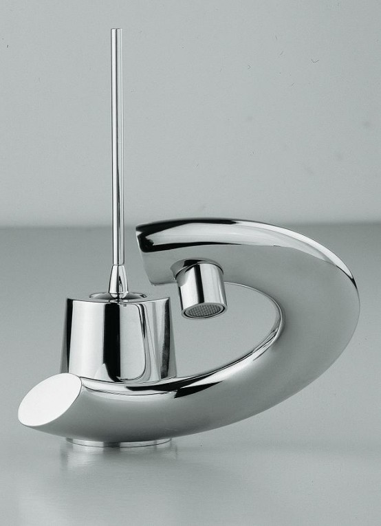 ikea faucet kitchen chairs with wheels modern bathroom faucets curved levers - embrace ...