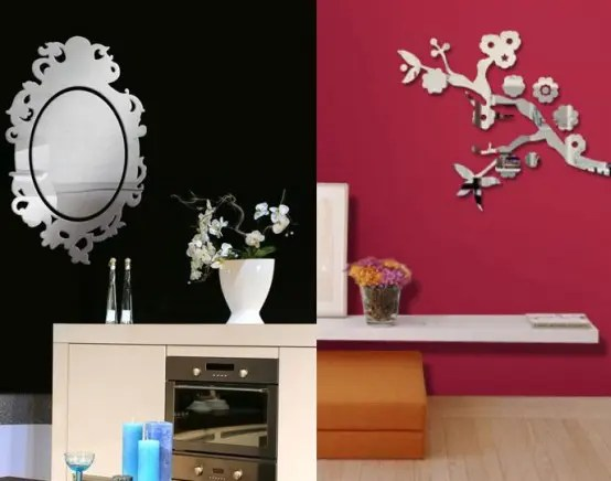 Wall Mirror Stickers By Tonka Design  DigsDigs