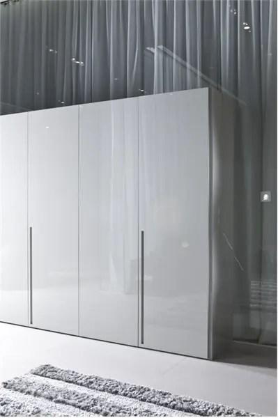 White Wardrobe For Minimalist Interior Design Orizzonte