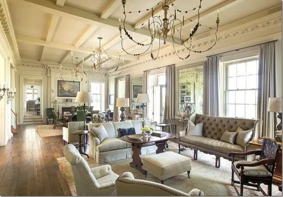 34 Adorable And Romantic Provence Living Rooms  DigsDigs