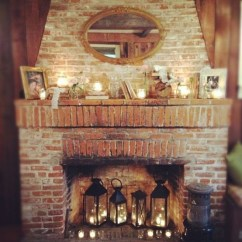 Modern Living Room Decorating Ideas Australia French Country Rooms Photos 30 Adorable Fireplace Candle Displays For Any Interior ...