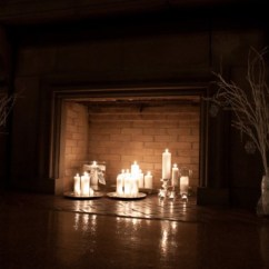 Nice Living Rooms Ideas Best Room Paint Color 2018 30 Adorable Fireplace Candle Displays For Any Interior ...