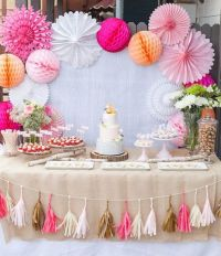 38 Adorable Girl Baby Shower Decor Ideas Youll Like ...