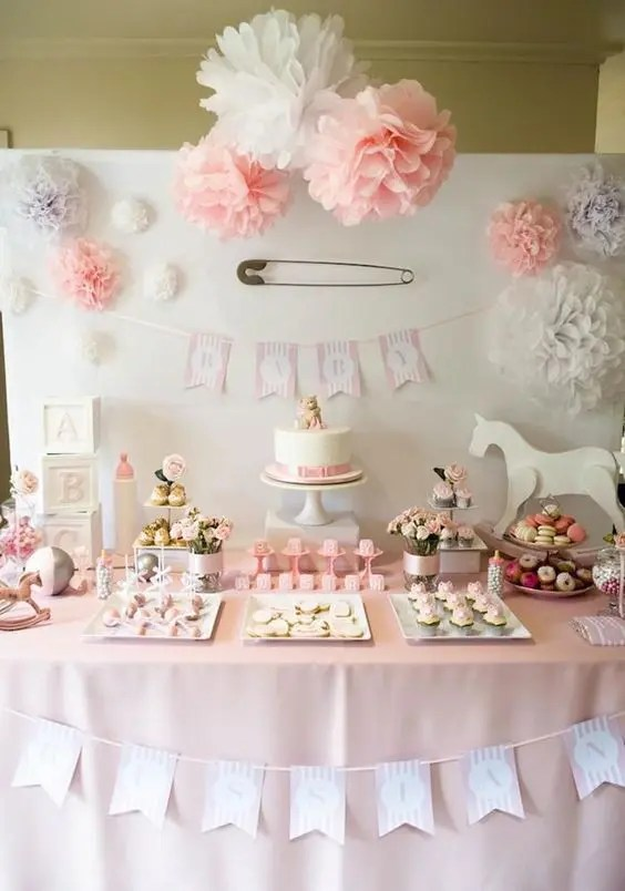 38 Adorable Girl Baby Shower Decor Ideas Youll Like
