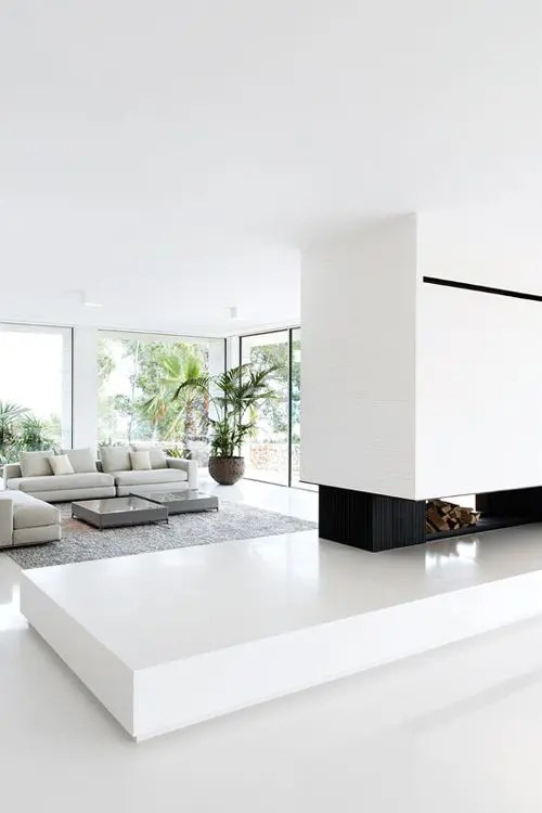 30 Adorable Minimalist Living Room Designs Digsdigs
