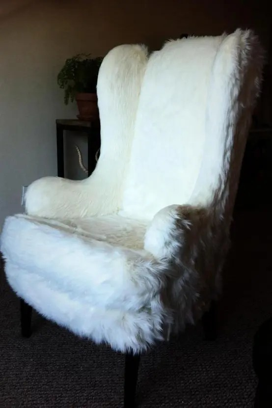 chair design love black chairs target 40 adorable warm fur furniture pieces for fall and winter - digsdigs