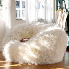 Awesome Bean Bag Chairs Off White Chair 40 Adorable Warm Fur Furniture Pieces For Fall And Winter | Digsdigs