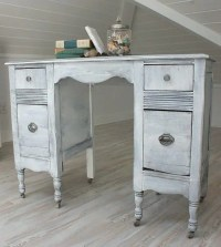 38 Adorable White Washed Furniture Pieces For Shabby Chic ...