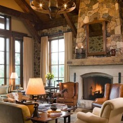 How To Decorate My Living Room Rustic Slate Floor Tiles 55 Airy And Cozy Designs Digsdigs