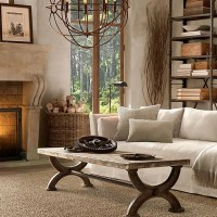 55 Airy And Cozy Rustic Living Room Designs | DigsDigs