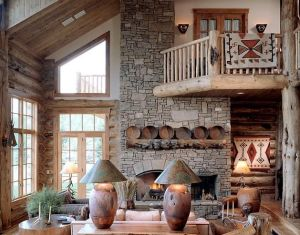 Cozy Living Rooms On Pinterest Cozy Living Rustic Home