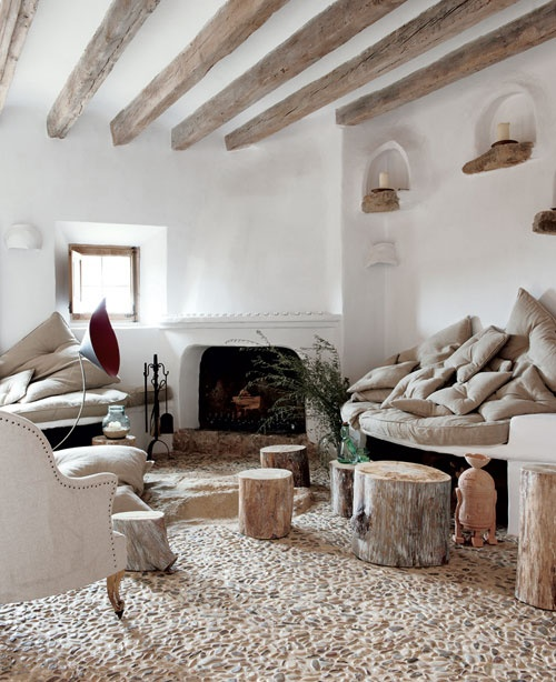 rustic living rooms shabby chic room furniture sale 55 airy and cozy designs digsdigs