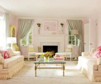 66 Airy And Elegant Feminine Living Rooms