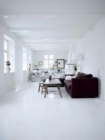 All White Interior Design