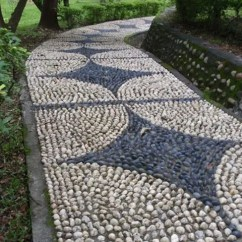 Hanging Chairs Ikea Comfy Wingback Chair 32 Amazing Pebble Garden Paths - Digsdigs