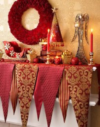 32 Amazing Red And Gold Christmas Dcor Ideas - DigsDigs
