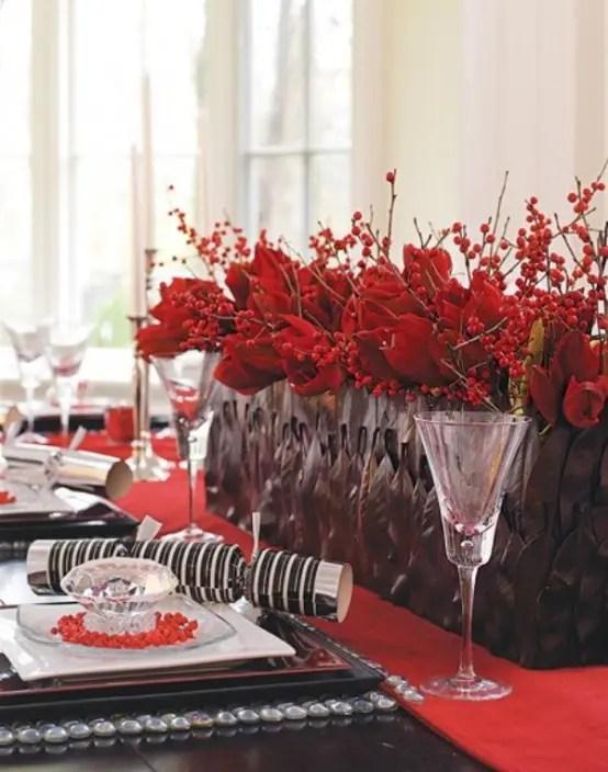 Christmas Table Centerpieces Ideas