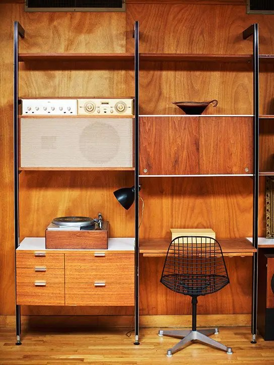 29 Awesome And Functional MidCentury Wall Units  DigsDigs