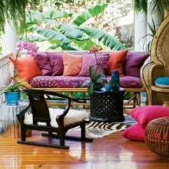 Hanging Chair Big W Herman Miller Desk Chairs 20 Awesome Bohemian Porch Décor Ideas | Digsdigs
