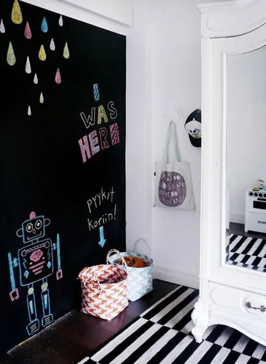 33 Awesome Chalkboard Dcor Ideas For Kids Rooms  DigsDigs