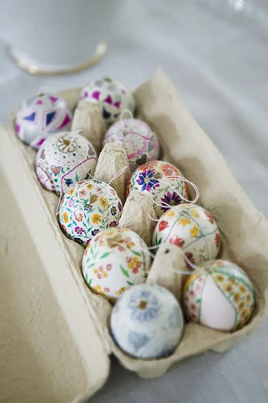 Decorative Easter Eggs Home Decor