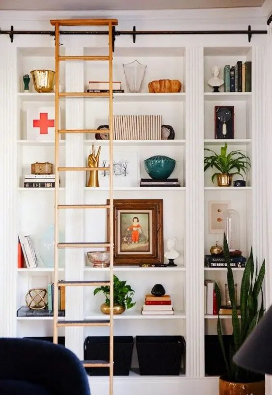 mid century danish chair and a half sleeper ikea 37 awesome billy bookcases ideas for your home - digsdigs