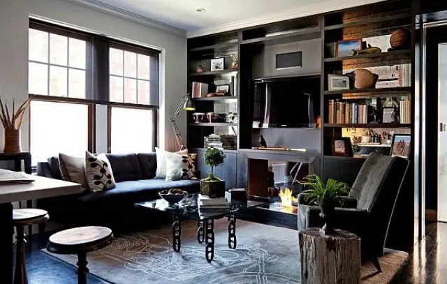 85 Awesome Masculine Living Room Design Ideas  DigsDigs