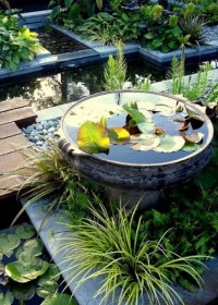 31 Awesome Mini Ponds To Complete Your Outdoor Dcor