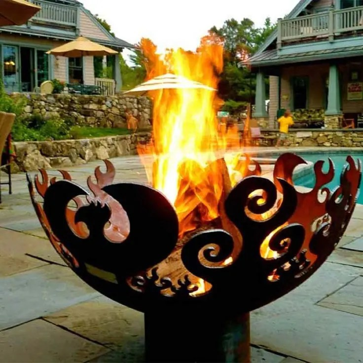62 Awesome Outdoor Fire Bowls To Add A Cozy Touch To Your Backyard  DigsDigs
