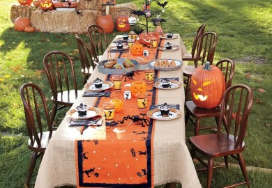 Outdoor Halloween Party Decorating Ideas