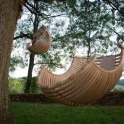 Hanging Cocoon Chair Wine Barrel Chairs 33 Awesome Outdoor - Digsdigs