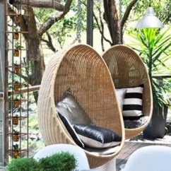 Beach Sling Chair Reupholster A Back 33 Awesome Outdoor Hanging Chairs - Digsdigs