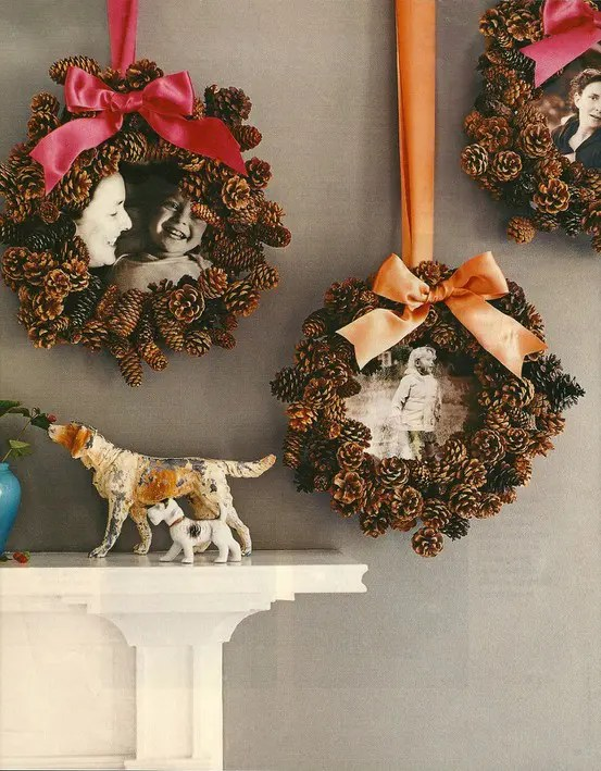 tall kitchen garbage can cheap cabinets for 55 awesome outdoor and indoor pinecone decorations ...