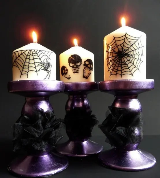 57 Awesome Purple Halloween Dcor Ideas  DigsDigs