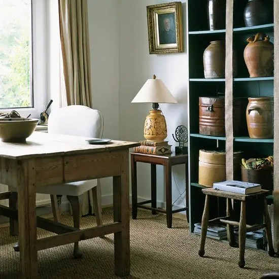 living room ideas pinterest rustic cottage 42 awesome home office designs - digsdigs