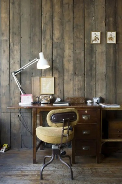 rustic home office design 42 Awesome Rustic Home Office Designs - DigsDigs