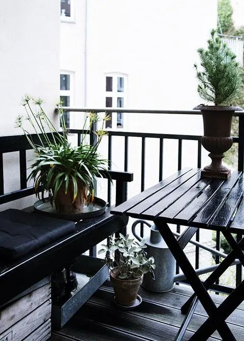 33 Awesome Scandinavian Balcony Designs Digsdigs