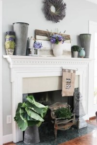 42 Awesome Summer Mantel Dcor Ideas - DigsDigs