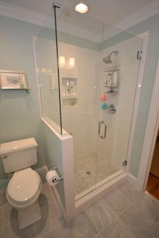 Creative Dcor 39 Bathrooms With Half Walls  DigsDigs