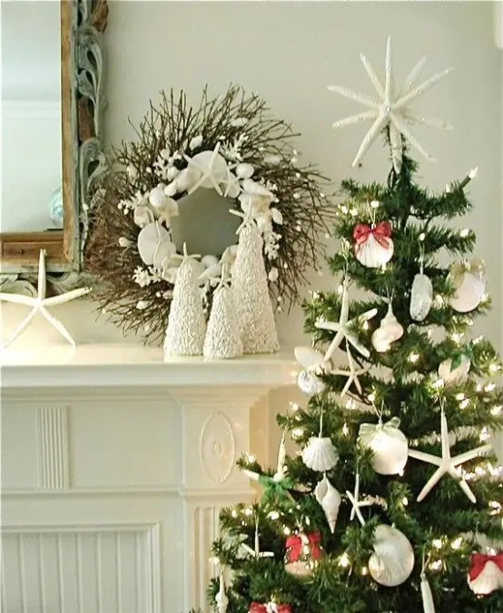 32 Beach Christmas Dcor Ideas DigsDigs