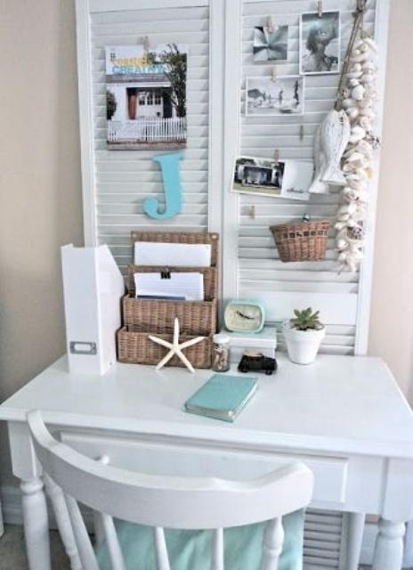 23 BeachInspired Home Office Designs  DigsDigs