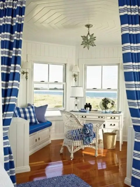23 BeachInspired Home Office Designs  DigsDigs