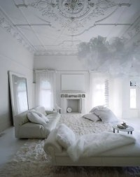 All Shades Of White: 30 Beautiful Living Room Designs ...