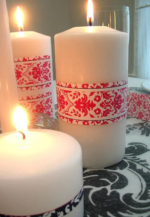 14 Beautiful And Romantic Candles For Valentines Day  DigsDigs