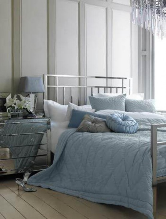 47 Beautiful Blue And Gray Bedrooms Digsdigs