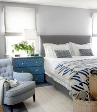 20 Beautiful Blue And Gray Bedrooms | DigsDigs