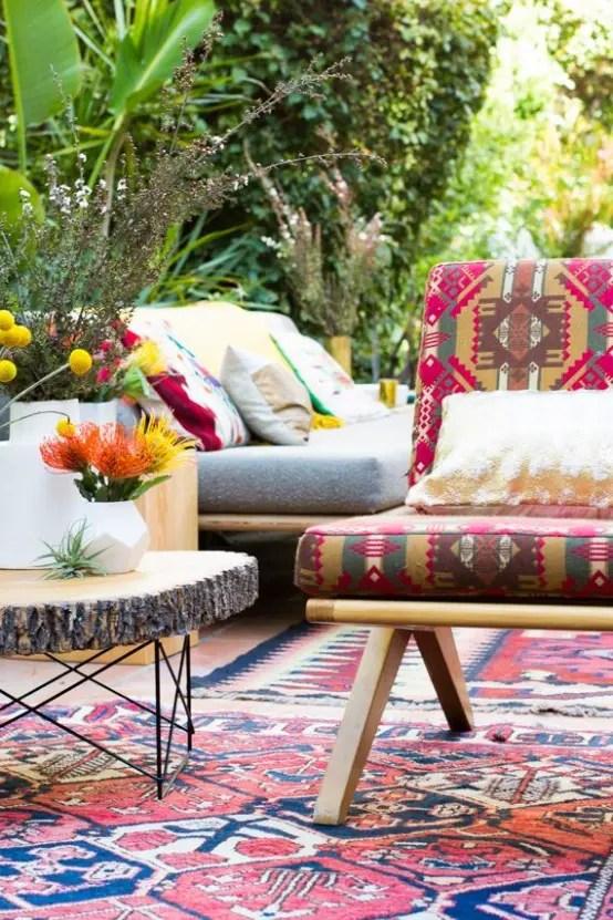 37 Beautiful Bohemian Patio Designs Digsdigs