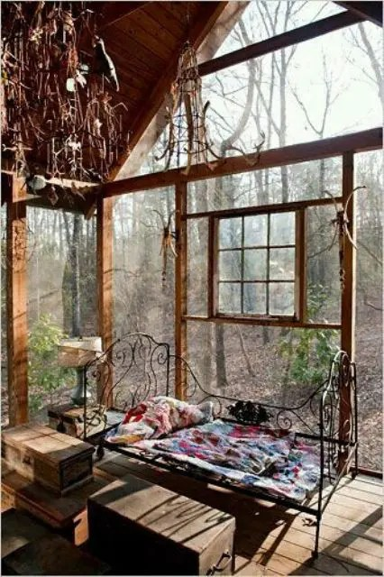 That is the thing about boho chic bedroom design, you can pretty much get away with. 23 Beautiful Boho Sunroom Design Ideas - DigsDigs