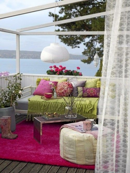 31 Beautiful Feminine Terrace And Patio Dcor Ideas DigsDigs
