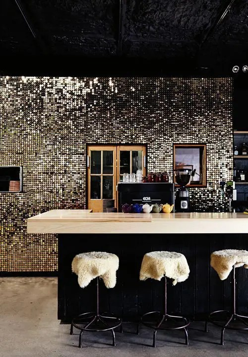 black and white kitchen accessories large island for sale 26 beautiful glam design ideas to try - digsdigs